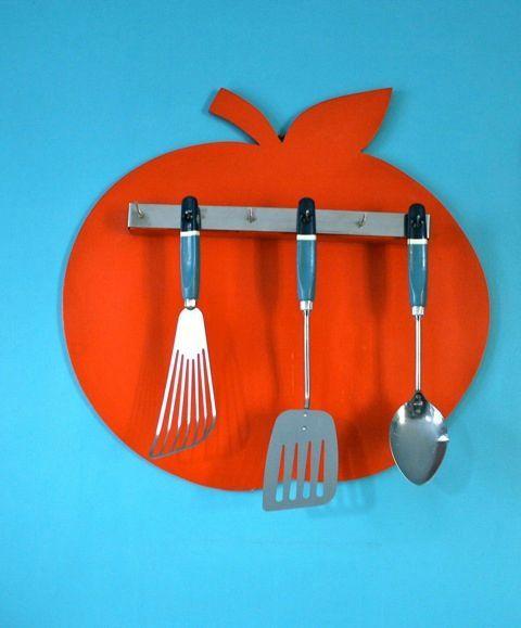 Tableau de cuisine Apple #vintage sur le blog retour de chine