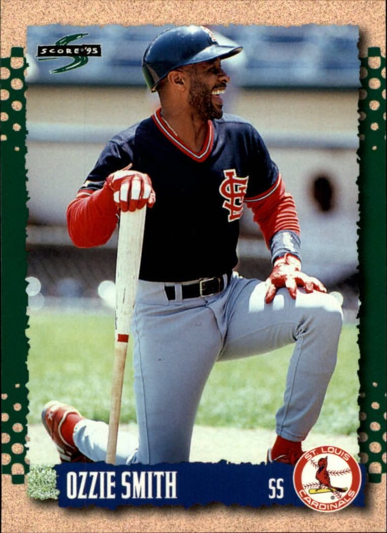 1995 Score 26 Ozzie Smith Baseball Card Baseball