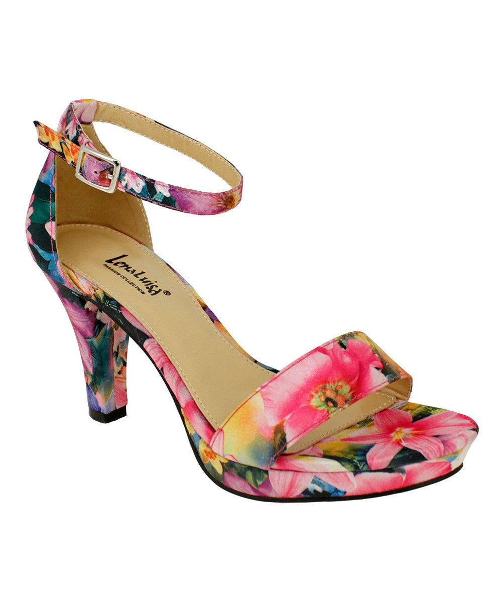 ceb68dd95125 This Lena Luisa Fuchsia Floral DSW Sandal by Lena Luisa is perfect!   zulilyfinds