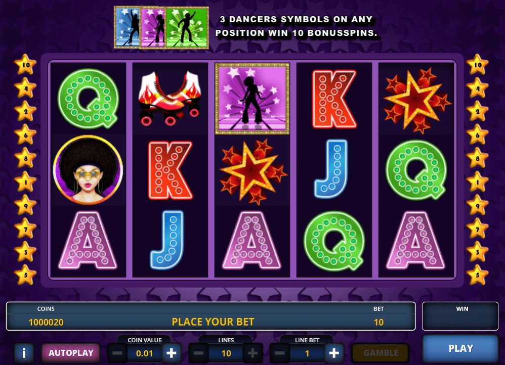 Free Disco Fever Slot Machine Online