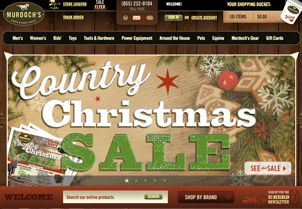 Murdoch's Ranch & Home is rocking the holiday retail