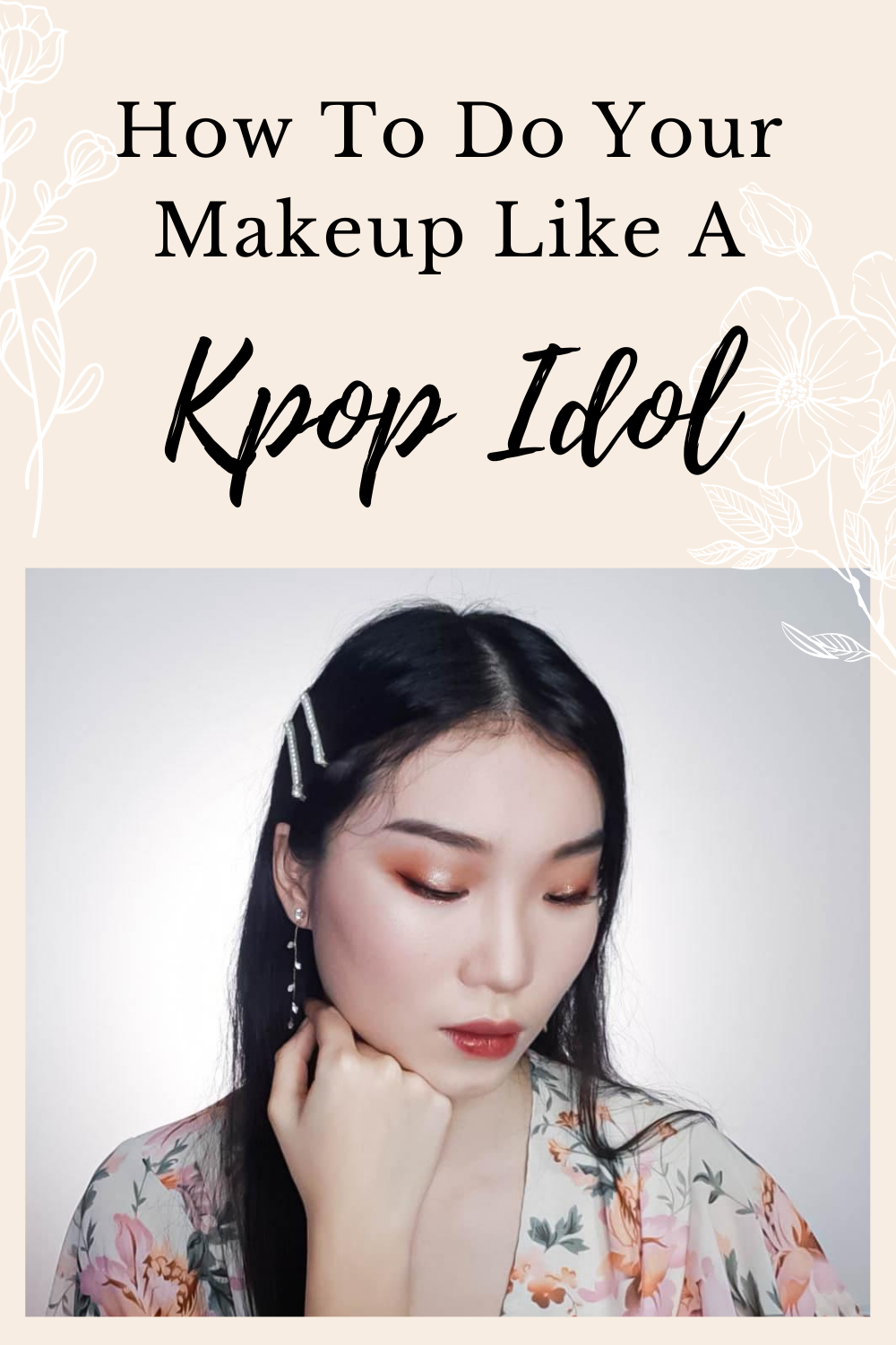 Kpop Idol Makeup Pop Makeup Aesthetic Makeup Makeup