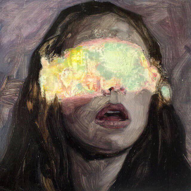 Hélène Delmaire / arte, pintura, rostro, face