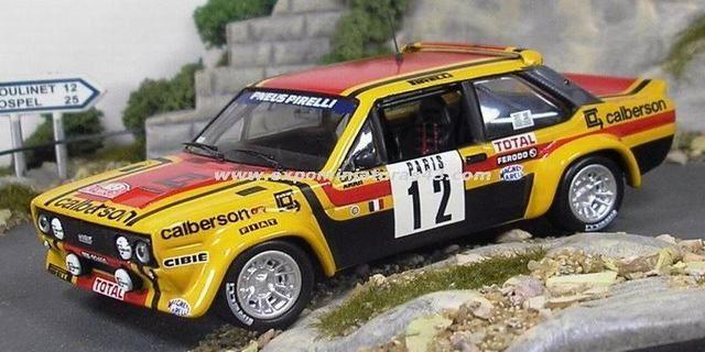 Rallye Automobile De Monte Carlo 1980 Fiat 131 Abarth Mouton Arrii