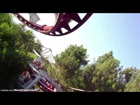 Ninja (HD POV) Six Flags Magic Mountain California - YouTube