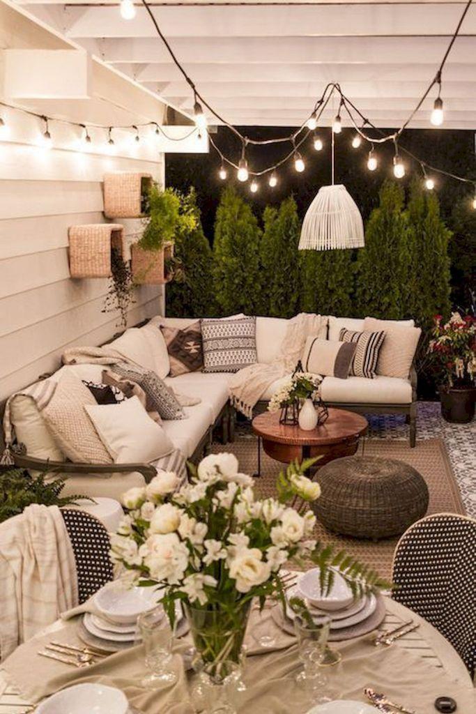 45 Awesome Rustic Farmhouse Porch Decor Ideas Outdoor Living