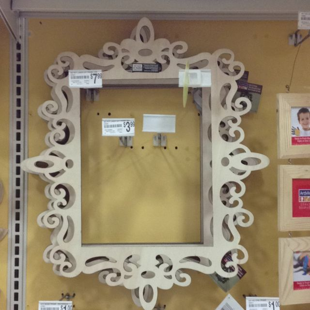 Laser cut wooden frame from Michael\'s   manua   Pinterest   Pintar y ...