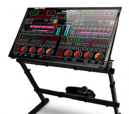 Emulator DJ Smithson Martin Touchscreen Mixing Desk TOUCH - novation agreement template