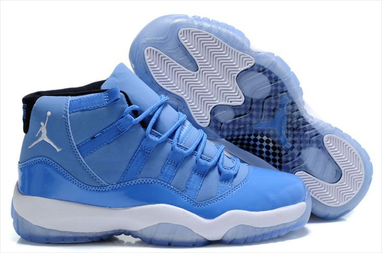 New Air Jordan Retro 11 - Cool Blue $71.00 www.niceshoesu.com � Air Jordan  ShoesNike ...