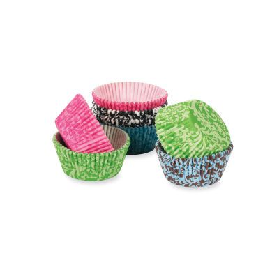Celebrate It™ Damask Baking Cups