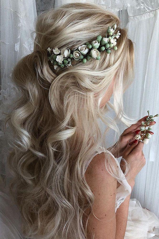 30 Elegant Wedding Hairstyles For Gentle Brides - #Brides #élégant #frisurenmänner #Gentle #Hairstyles #Wedding