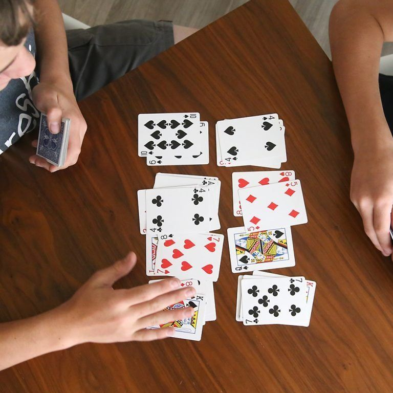how to play california speed  easy card game  it's