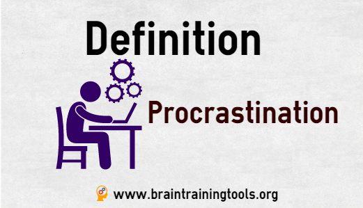 procrastination meaning