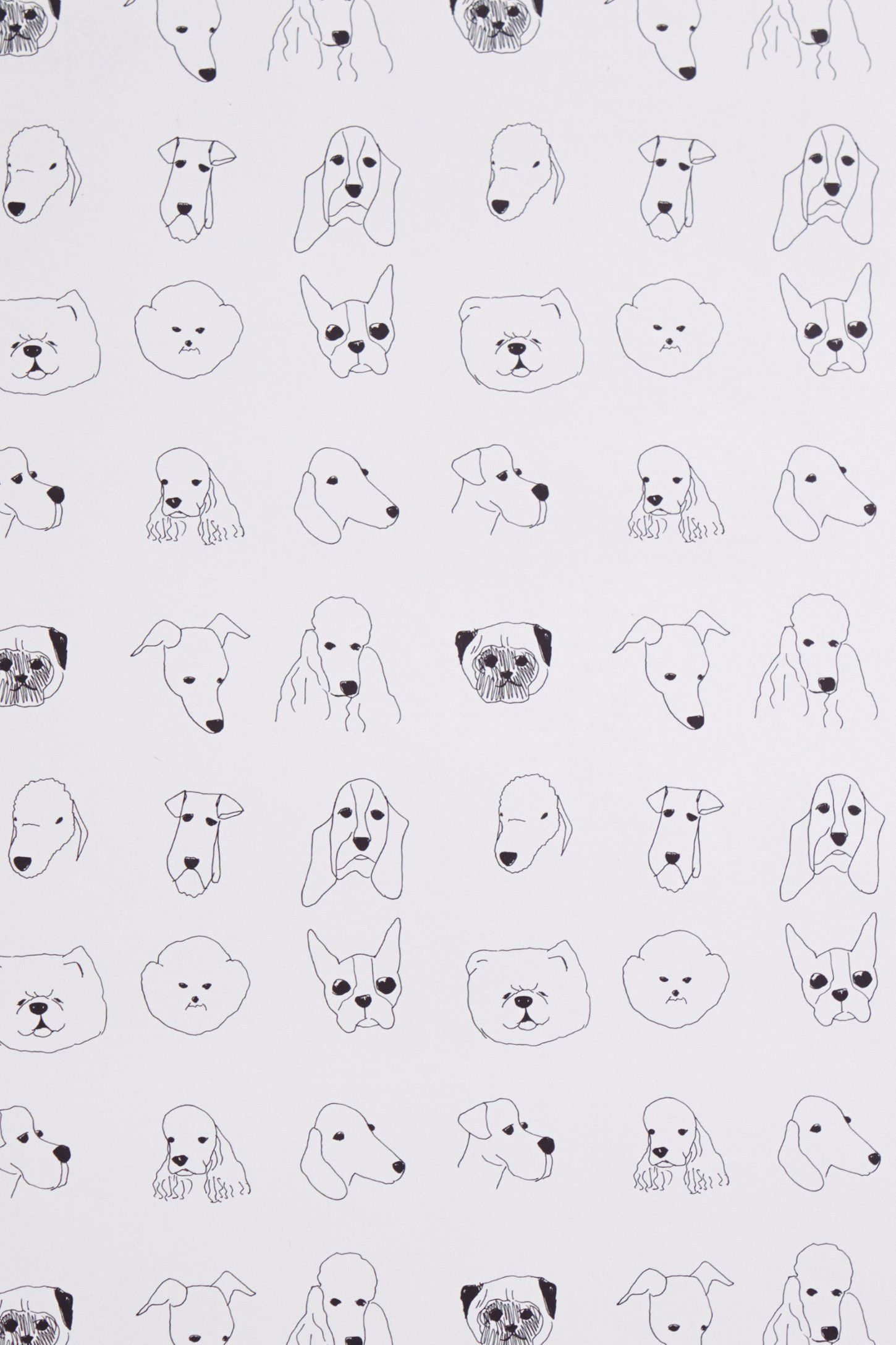 Dogs wallpaper wallpapers for Anthropologie wallpaper