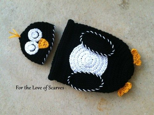 949789848e9 Baby Macaroni Penguin Cocoon Photo Prop