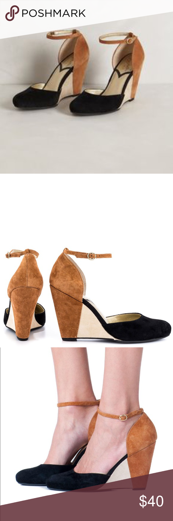 0fe0cadec4 Seychelles Fight Fire With Fire Wedge Pump - 9 EUC Seychelles Wedge Pumps  in suede. So sad to part with this super cute pumps
