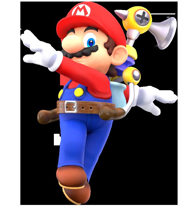 Mario Playing Png Image Super Mario Sunshine Mario Super Mario Bros