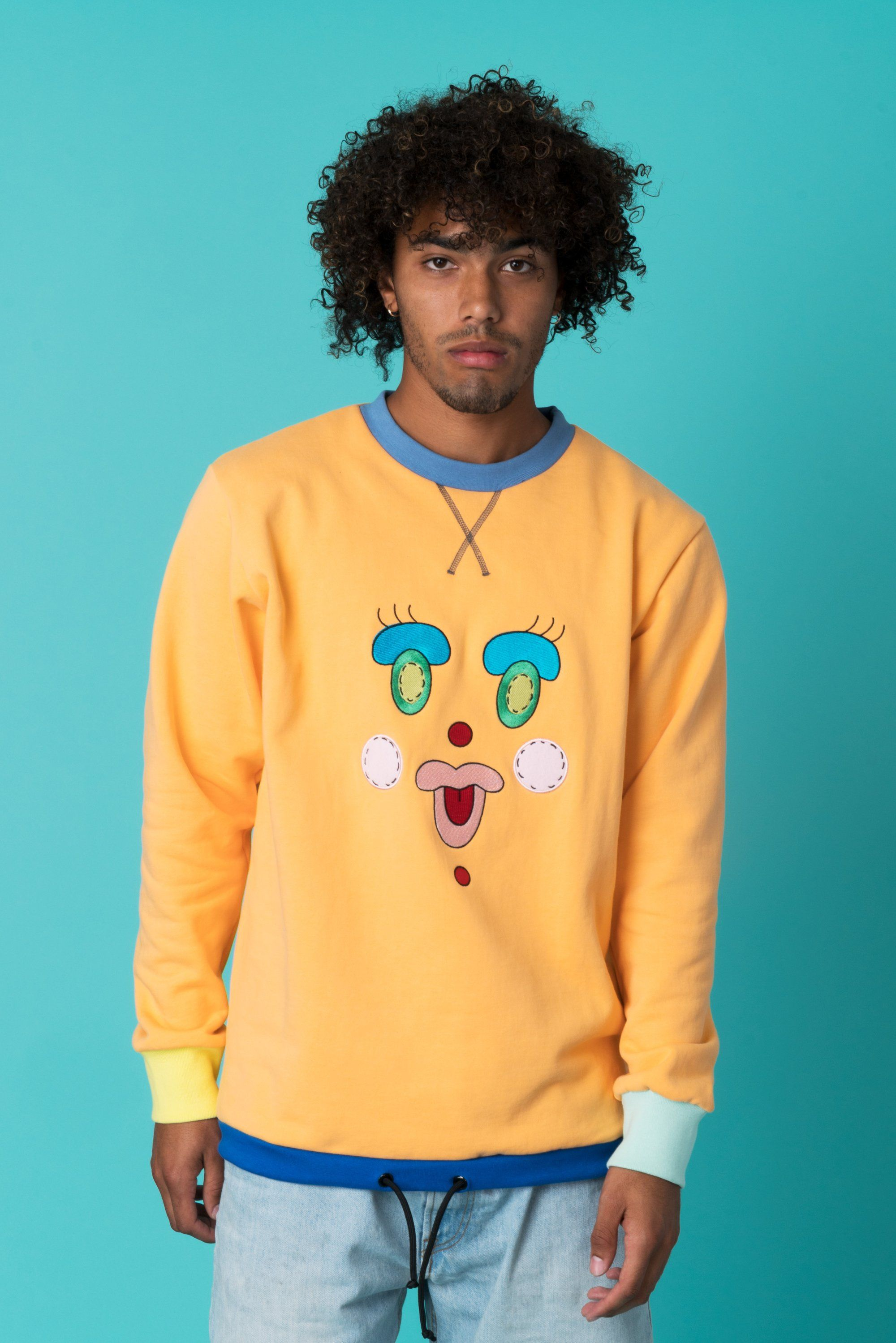 0c290f4454f Happy Face Sweater - Teddy Fresh