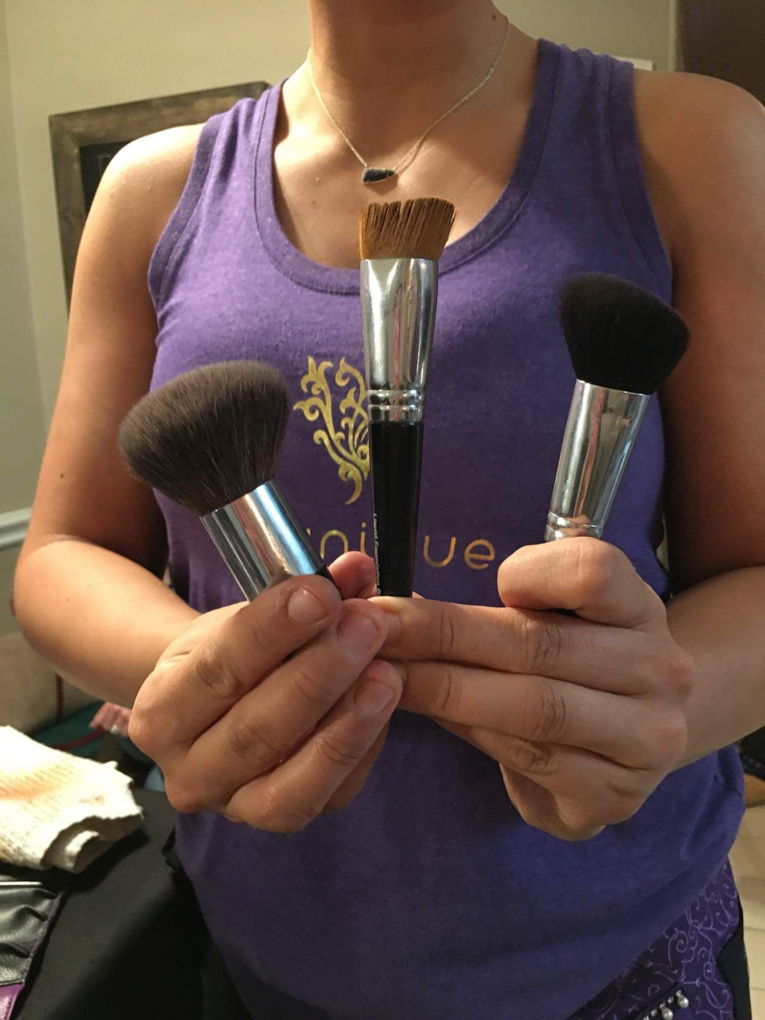 Which do you prefer!?! Younique face brushes