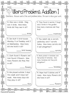 1st Grade Fantabulous: Back with Printables | Math ideas | Pinterest