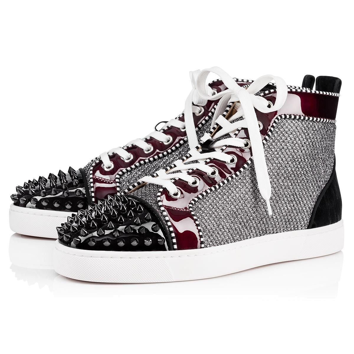 c8798e63a9f CHRISTIAN LOUBOUTIN Lou Spikes Orlato Men s Flat.  christianlouboutin  shoes
