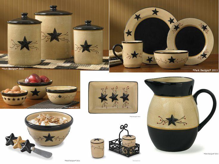 Star Vine Dinnerware  PARK DESIGNS STAR VINE CERAMICS
