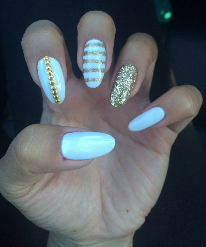 Manicure Monday: White Gel Nails | Nail nail, Manicure and White gel ...