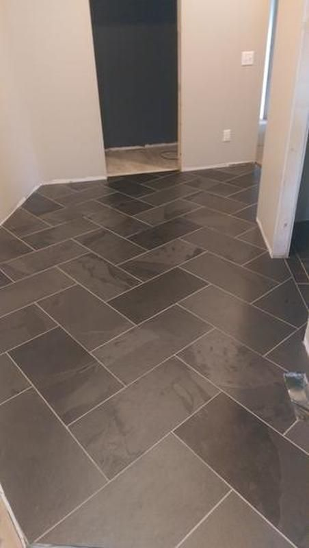 Slate Tile Portland Slate Tile Slate Tile Flooring Slate Floor