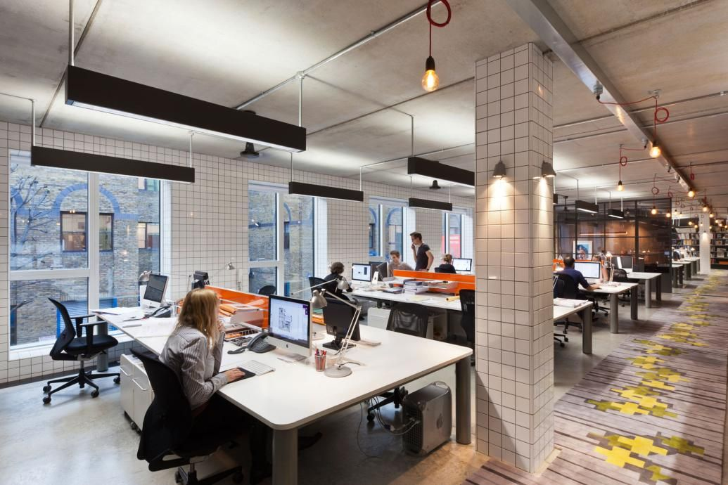 studio office design. Project Orange Studio - London, UK Office Design