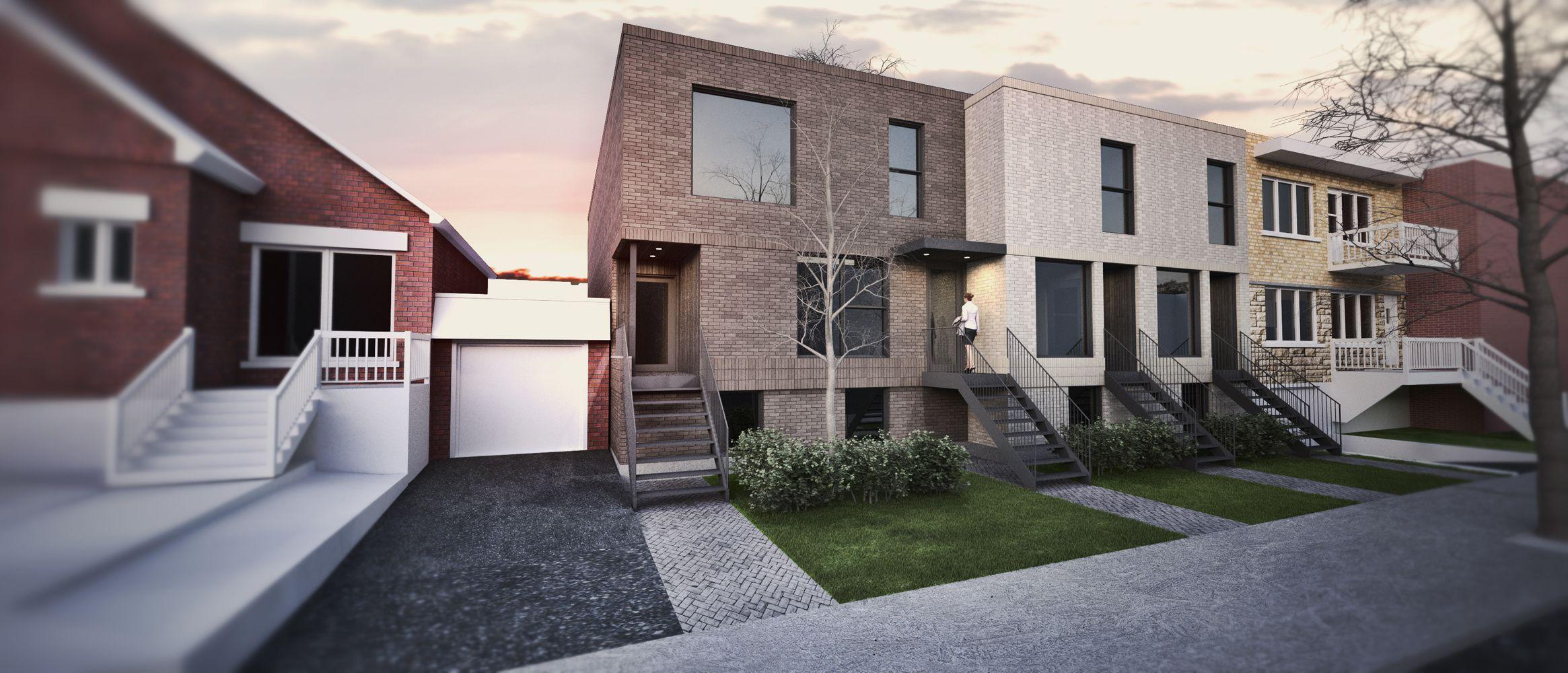 Architecture Open Form - 15-165_Habitation Hurteau