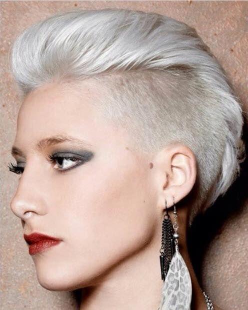 Moderne Undercut-Frisuren für Frauen, die keine Angst vor ...