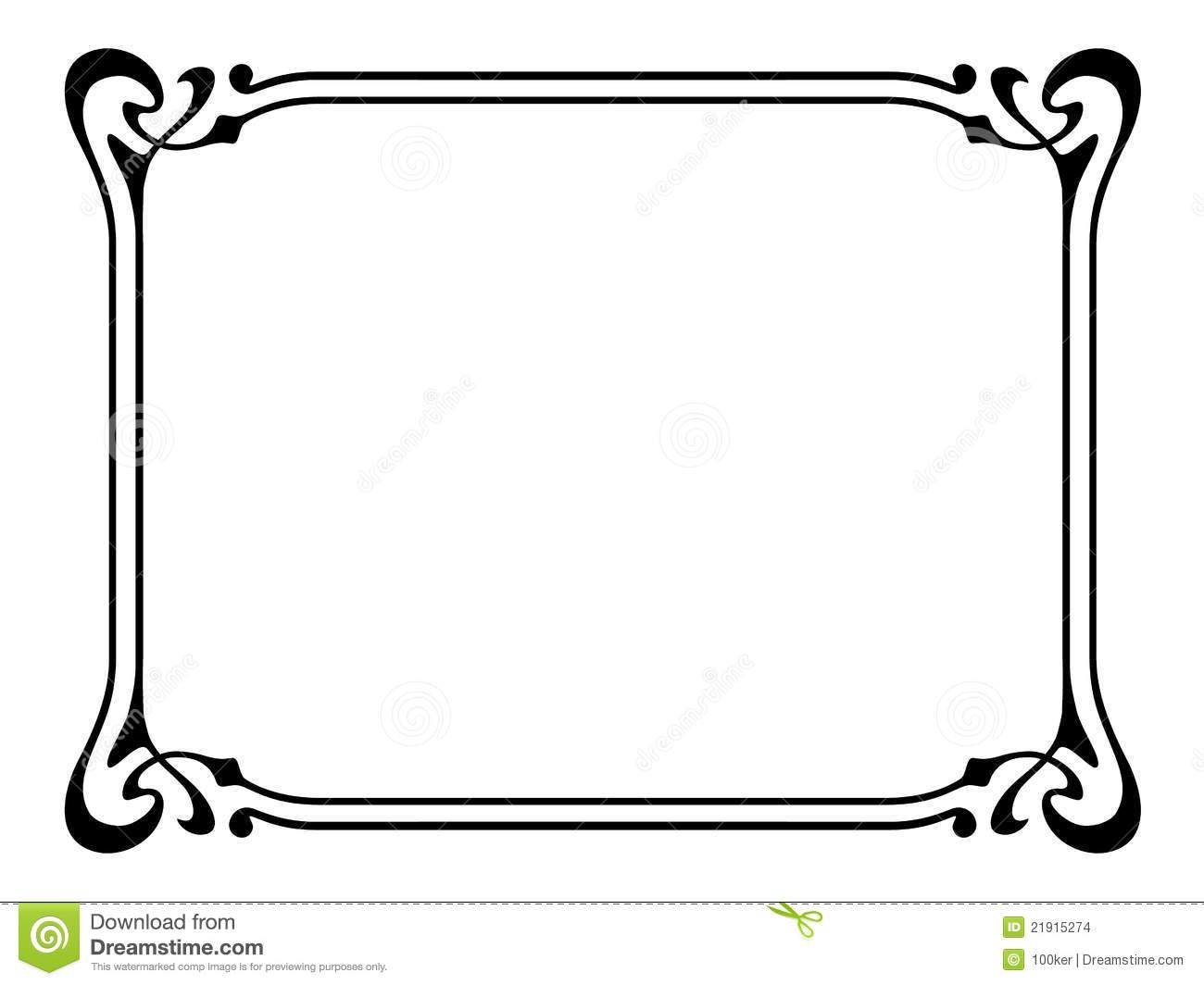 decorative clipart frames - photo #18