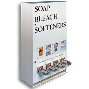 Four Column Laundry Soap Vending Machine By Vend Rite
