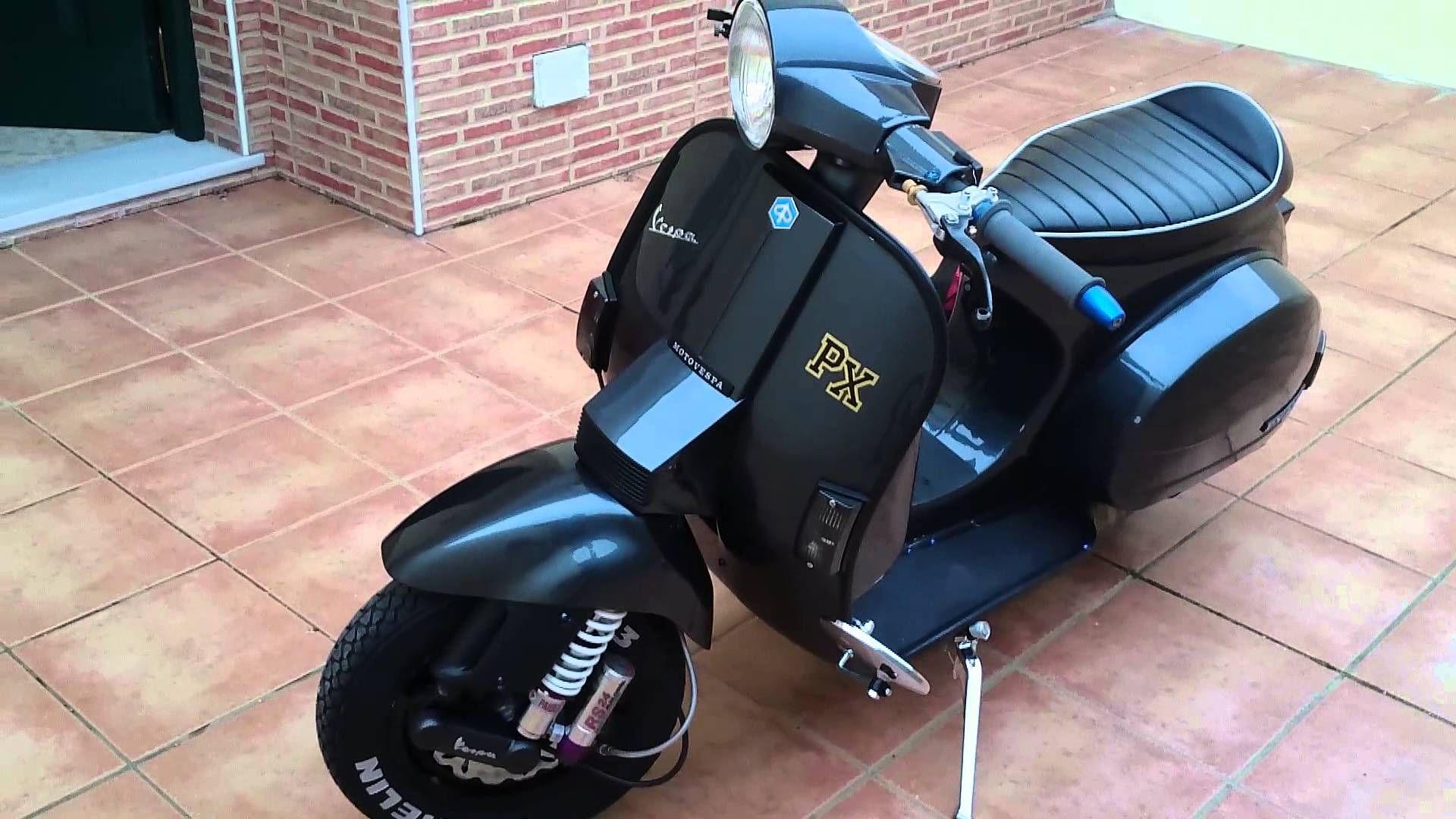 Show Vespa px200 iris classic/sport tune - YouTube | vespa ...