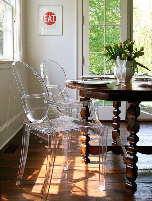 Horton Design Associates - Lucite Philippe Starck Louis ...