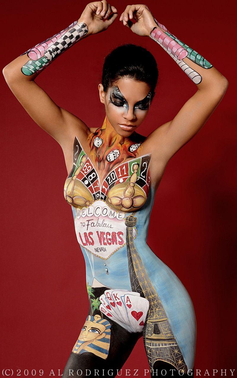 Full Body Painting Girls  New Master Body Painting -4610