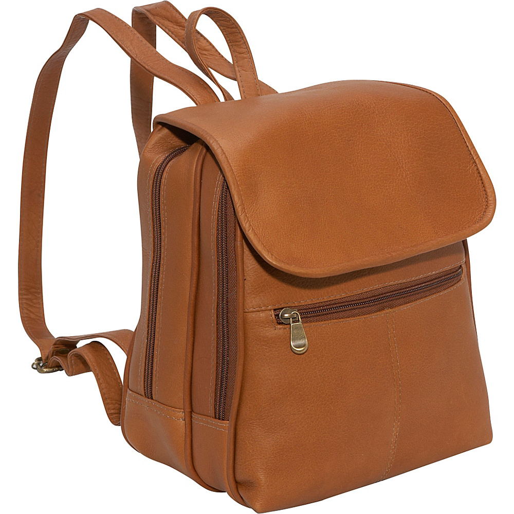 Le Donne Leather Everything Womans Backpack/Purse - Tan | Backpaks ...