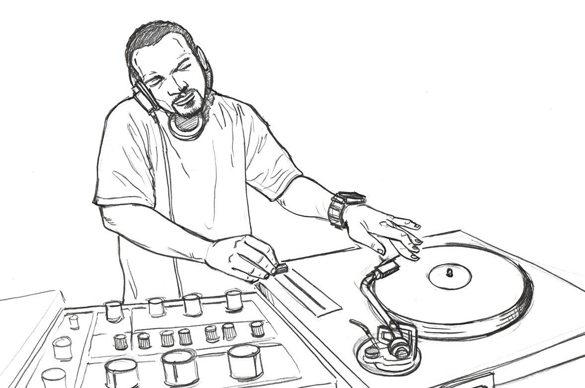 Pin By Igor Da Silveira On Electronic Music Dj Art Character Design Music Art