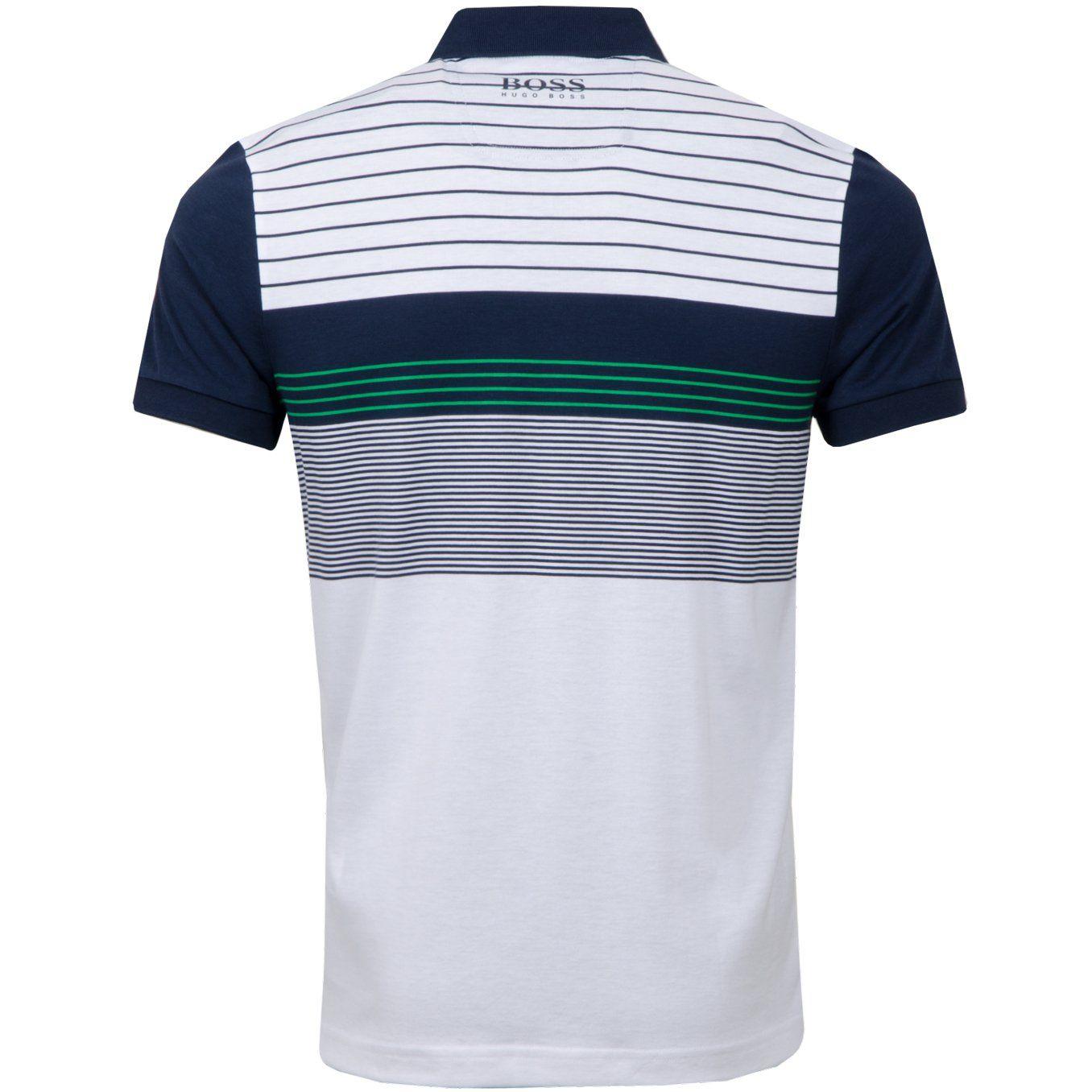 cf9d0cc5 BOSS Green Paddy Pro 1 Training White | Polo Shirts | TRENDYGOLF.COM ...