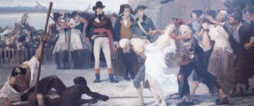 noyades de Nantes pendant la Terreur et les guerres de