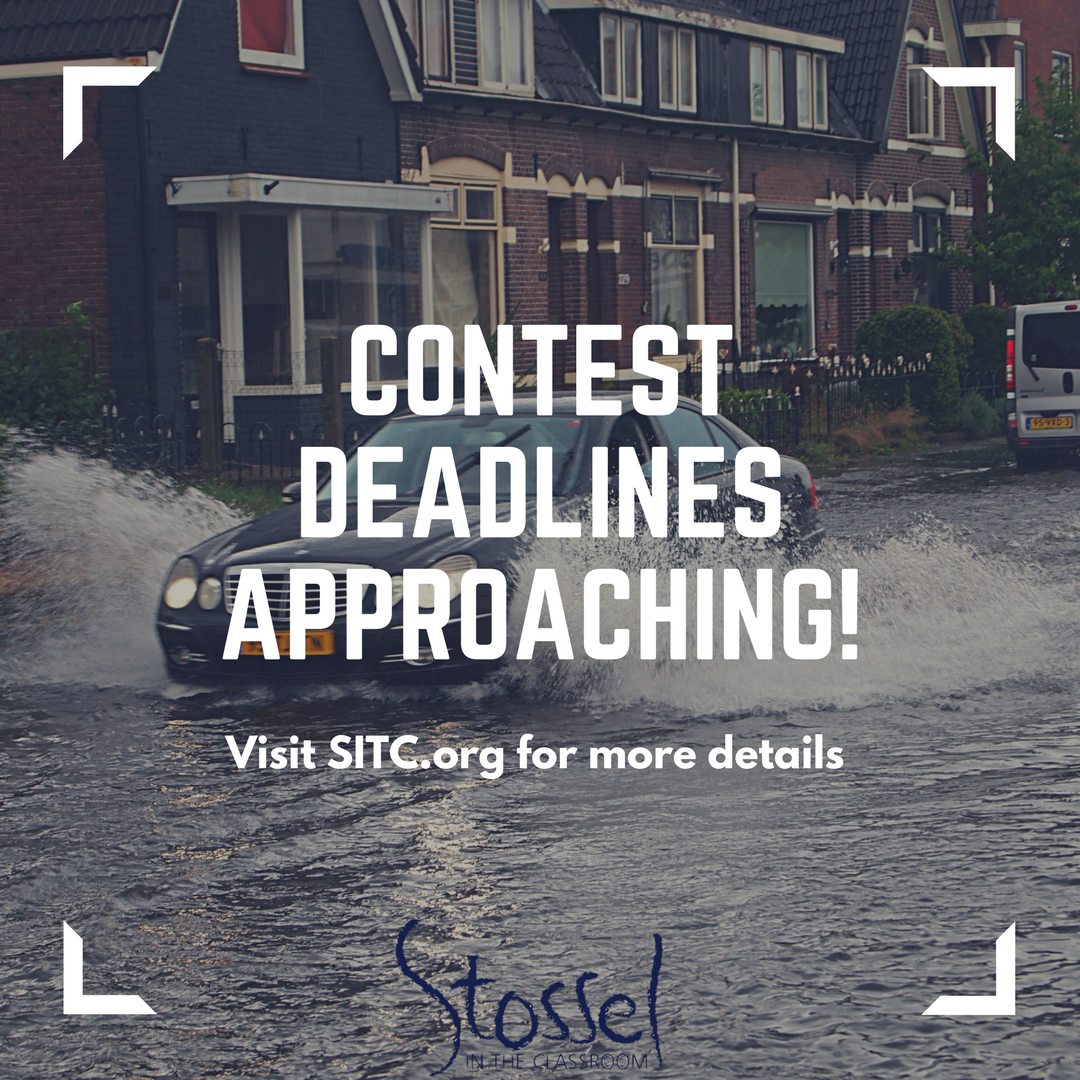 Our Contest Deadlines Are Approaching For More