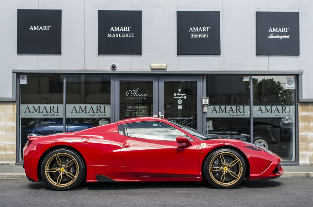 2015 Ferrari 458 Speciale Aperta For Sale At Graypaul Nottingham