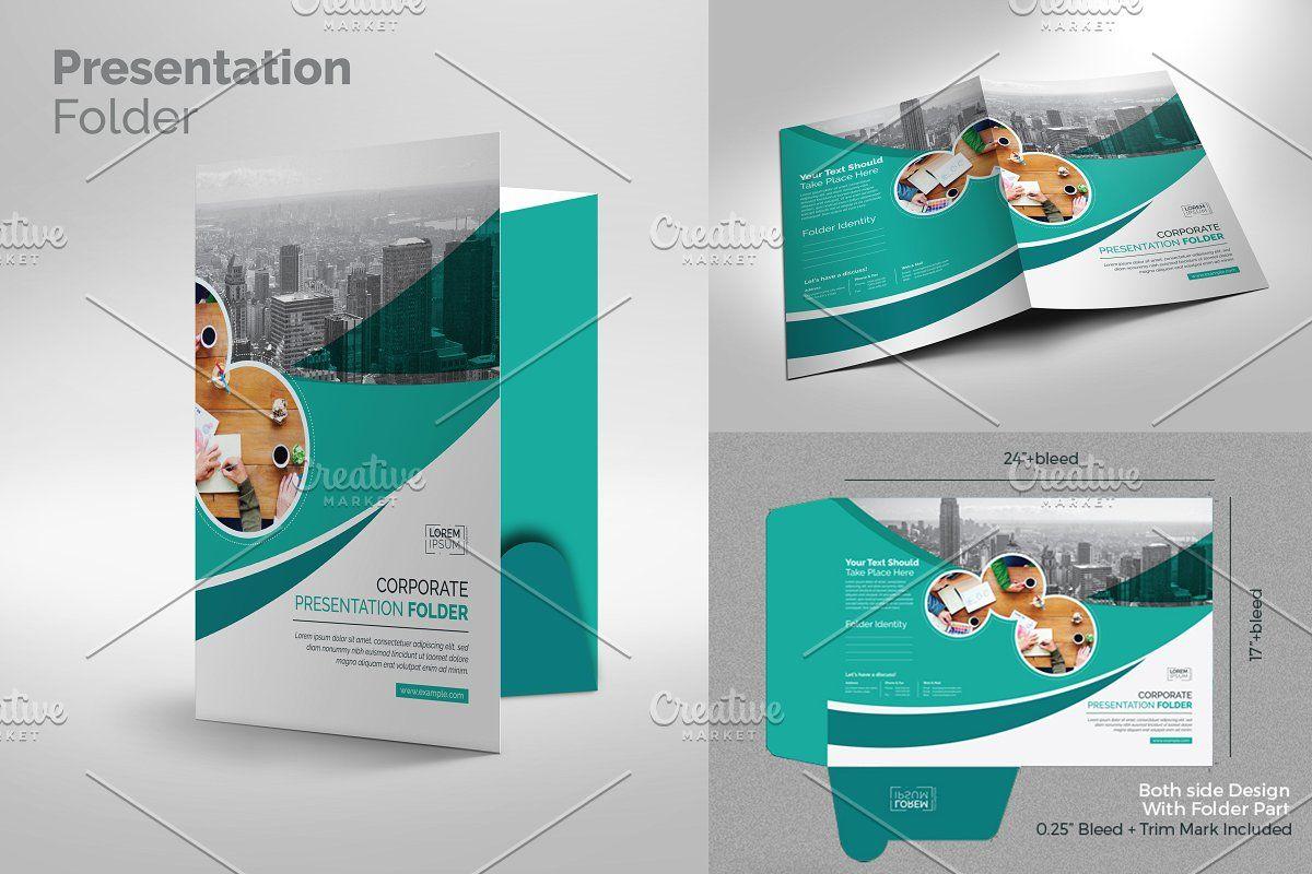 Corporate Presentation Folder , #affiliate, #change#text#color#easy #affiliate
