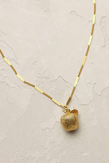 Apple Charm Necklace