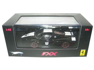(Limited Supply) Click Image Above: Ferrari Enzo Fxx Diecast Car Model Black 28 1/43 Elite Limited Edition By Hotwheels