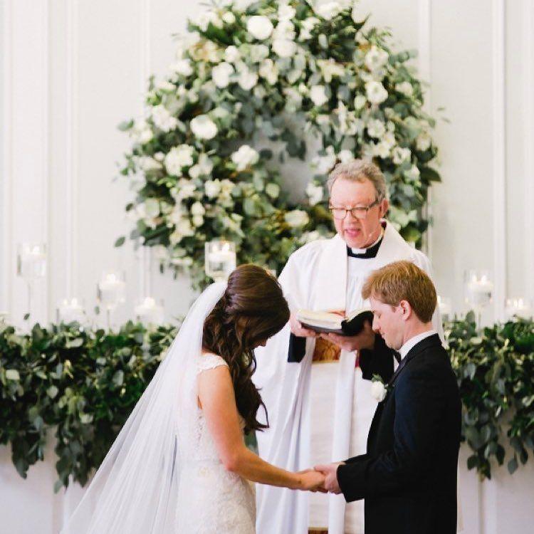 Wedding Chapel Decoration Ideas: Pin On Wedding Belk Chapel Ceremony