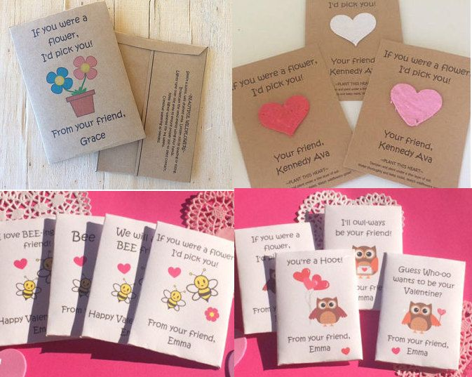 A great idea for your kids to pass out on valentines day! These ...