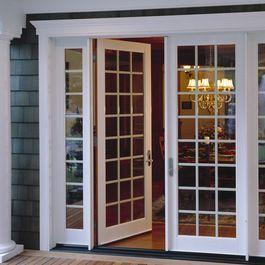 Replacing A Garage Door With French Doors