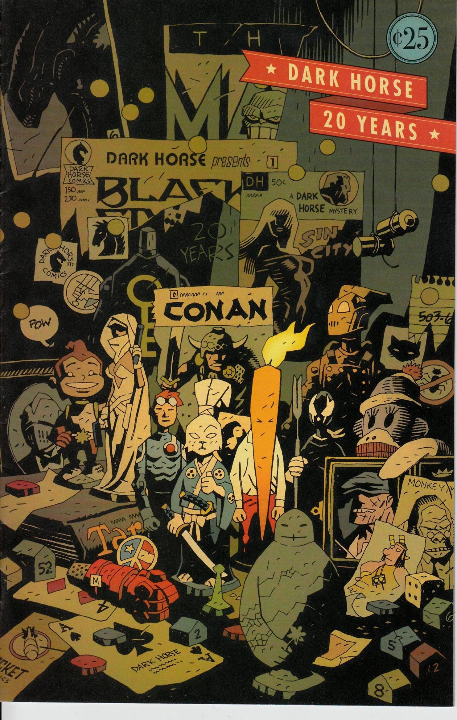Dark Horse Comics by Mike Mignola | Mike mignola, Mike mignola art ...