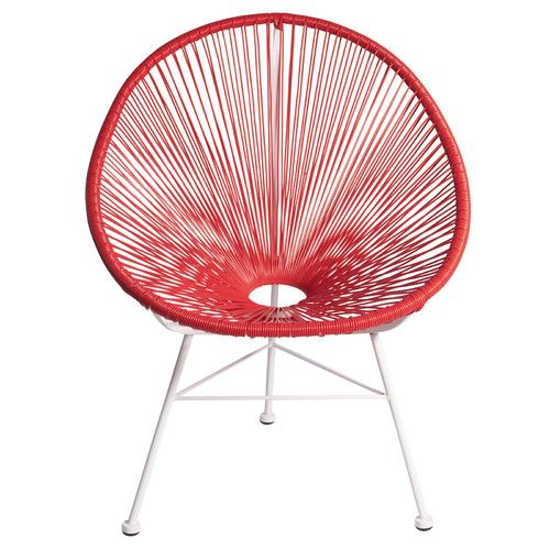 Acapulco Woven Basket Patio Chair Home Decorating